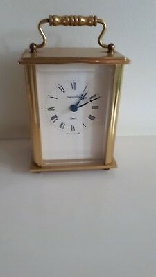 3solid brass james walker carriage clock beautiful  condition