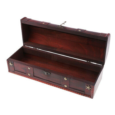 Luxury Retro Red Wine/Jewelry Gift Box Storage 1 Standard 750ml Wine Bottle