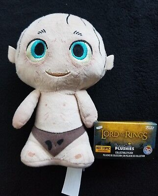 Funko Super Cute Plushies Lord Of The Rings Smeagol Gollum HOT TOPIC EXCLUSIVE