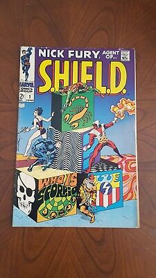 Nick Fury, Agent of SHIELD #1 (Jun 1968, Marvel)