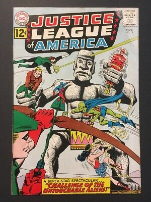 Justice League of America #15 (Nov 1962, DC) CLASSIC VINTAGE ICONIC COVER