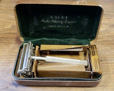 Antique Valet Auto Strop Safety Razor w/ original case