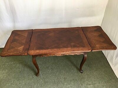 20th Century Provincial French Oak Extending Dining Table 200 00