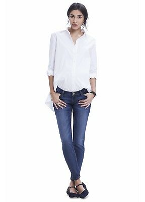 Hatch Maternity, The Nearly Skinny Jean, Blue, Size 26, NWT $248