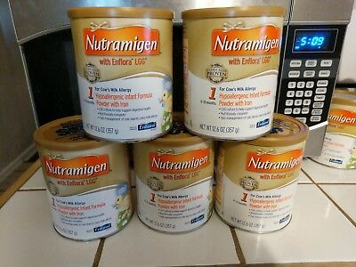 Nutramigen With Enflora LGG Formula 12.6 Ounces 5 Cans