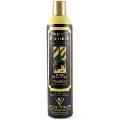 (10mls) - Wine Enthusiast Private Preserve Wine Preservation Spray. Oenophilia