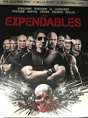Expendables 1 (4K Uhd Blu Ray) Disc Only No Case No Art Never Viewed