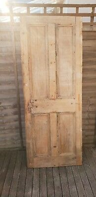 reclaimed old pine wooden door