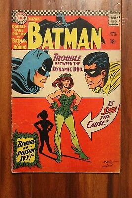 Batman 181 Gd. Condition 1st Appearance Poison Ivy no pin up