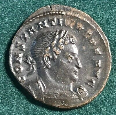 Roman Empire Bronze Follis Of Constantine I The Great Trier Mint 316 Ad Sol