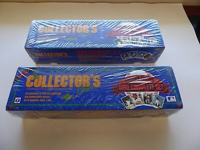 1989 Upper Deck Complete SEALED Factory Set Lot of 2 Griffey Jr./ R. Johnson RCs
