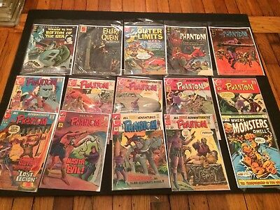 Long box of Early Bronze Age Monster and War and Superhero 204 Comics