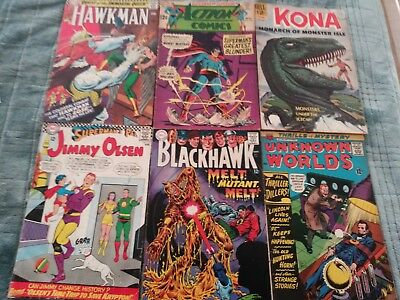 Silver Age Comic Lot (0.12 Cents)