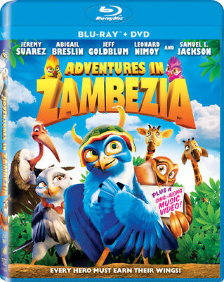 Adventures in Zambezia [2 Discs] [Blu-ray/DVD (Blu-ray Used Like New) BLU-RAY/WS