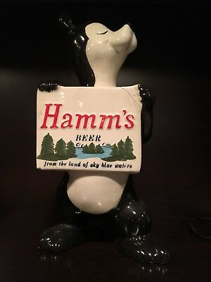Vintage 1960's Hamm's Beer, Hamms Ceramic REPAIRED