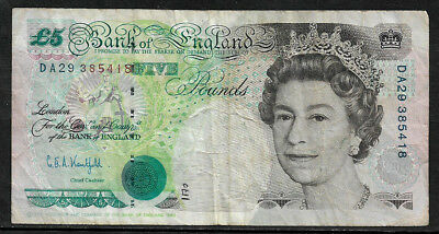 [X-386] Bank of England Five Pound Banknote