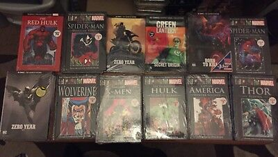 20 marvels and dc comics Collection