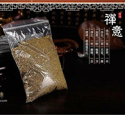 100% Natural Pure Buddhist Tibet Tibetan Medicine Snow Grass Incense Powder sl