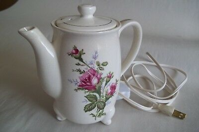 """Vintage Electric Tea Pot Water Pot In Working Condition 6 ½"""" tall"""