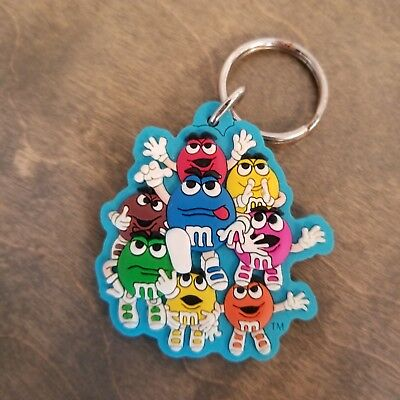 Collectible M&M's Keychain - All Colors 1999
