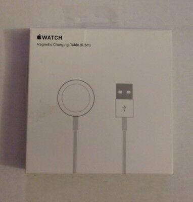 Open Box New Genuine Apple Watch Magnetic Charging Cable 0.3m A1570 - MLLA2AM/A
