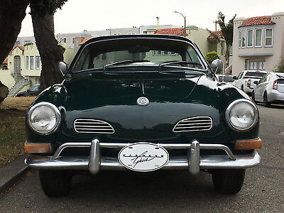 1970 Volkswagen Karmann Ghia coupe Original 1970 VW Volkswagen Karmann Ghia Classic Beauty
