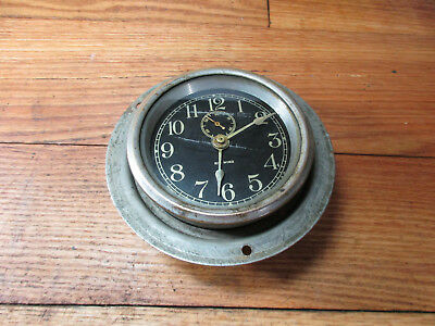 Phinney Walker Rim Wind, Rim Set Automobile Clock Model T Ford, Buick, Cadillac