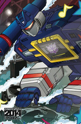 Transformers More Than Meets The Eye #30 RE B IDW 2014 Convention Variant NM