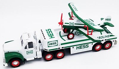 2002 Hess Toy Truck And Airplane Excellent Condition Motors + Wings Working!