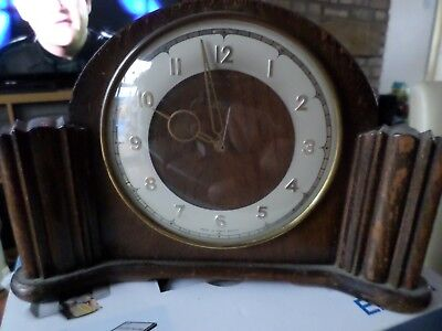 Smiths English mantle clock