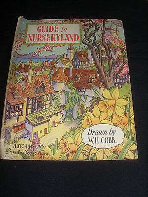 'Guide To Nurseryland' Drawn by W.H. Cobb