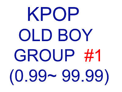 KPOP old boy group Promotion album SUPER SET 1 (Update finished)