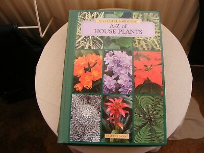 Readers Digest Successful Gardening A - Z Of House Plants