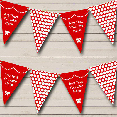 Midnight Black Polka Dot Flag Banner 12ft Spotty Unique Party Dots Bunting