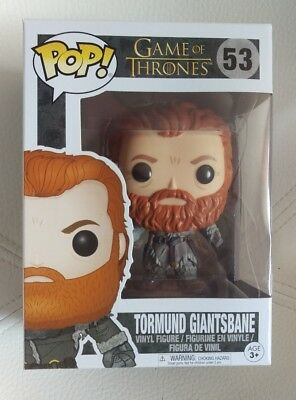 Funko Pop Game of Thrones Tormund Gigantsbane # 53