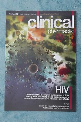 Clinical Pharmacist Magazine, Vol.6, No.6, July/August 2014, HIV treatment