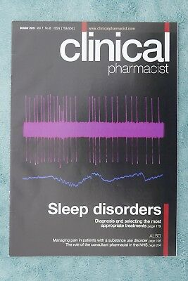 Clinical Pharmacist Magazine, Vol.7, No.8, October 2015, Sleep disorders