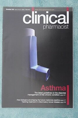 Clinical Pharmacist Magazine, Vol.6, No.9, November 2014, Asthma management