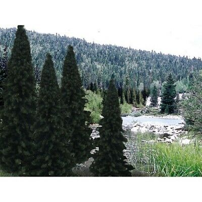 """Woodland Scenics TR1586 Ready Made Tree 4""""-6"""" Evergreen Blend (18) Value Pack"""