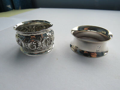 Two Antique Napkin Rings