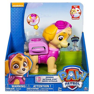 (1, Action Pup) - Paw Patrol - Jumbo Action Pup, Skye. Shipping is Free