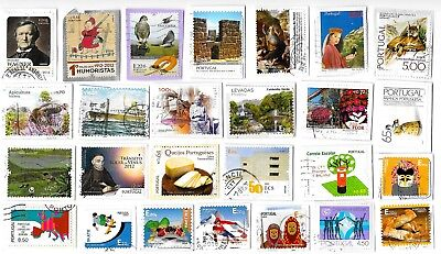 PORTUGAL - Selection of Stamps on Paper - All Different