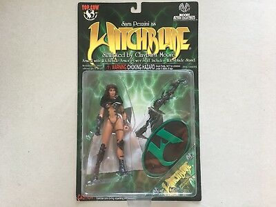 Obsidian WITCHBLADE Figur Moore Action Collectibles 1998 Sara Pezzini OVP