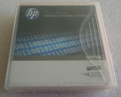 Universal Cleaning Cartridge C7978A - Hp Ultrium Lto
