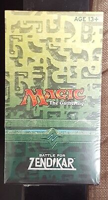 Mtg Battle For Zendikar Pre Release Pack New And Sealed: Magic The Gathering