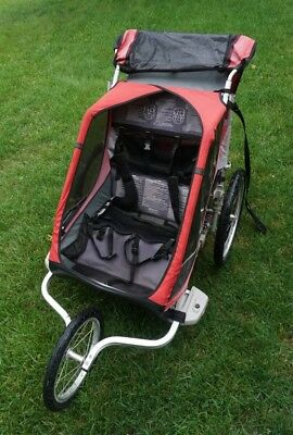 Chariot Cougar 2 w/ Biking, Jogging and Skiing Attachments (Price Reduced!)