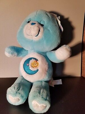VINTAGE BLUE MOON NIGHT STAR BEDTIME CARE BEAR 20th anniversary
