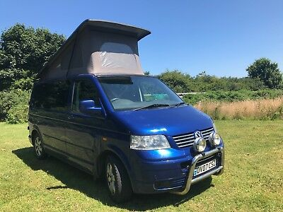 VW  T5  2007 T5 2.5l 6 speed  Campervan with Pop top - great opportunity