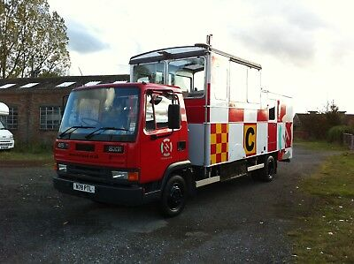 Mobile Air Traffic Control Tower ATC Lorry - Airfield Glider Leyland Daf Event