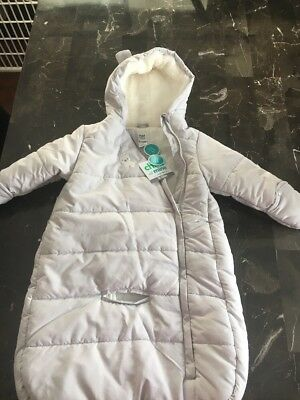 Child of Mine Carters Baby Pram NWT Car Bag Snowsuit For Baby 9-12 Months